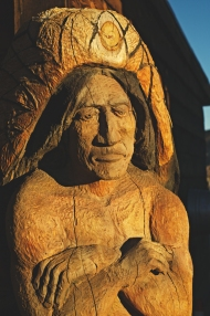 Wooden Native American